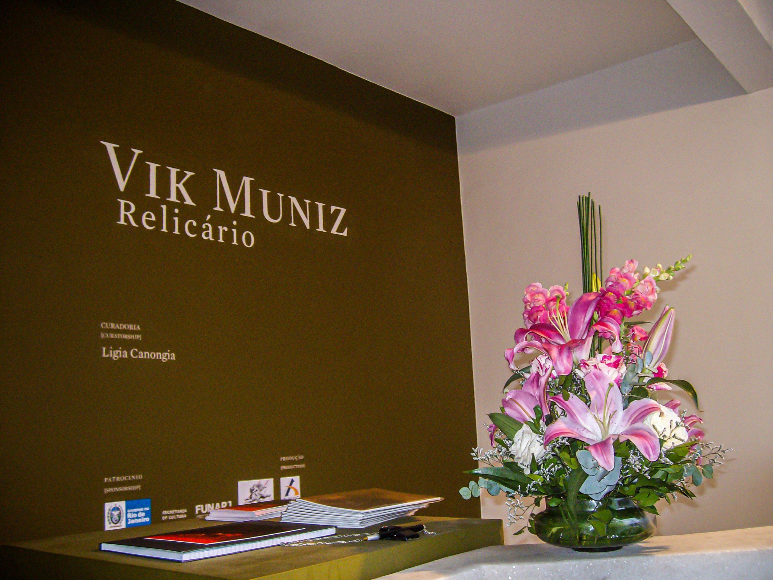 Casa de Cultura Laura Alvim - Exposição Vik Muniz
